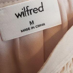 Aritzia Dresses - Wilfred Halter midi EFFET dress